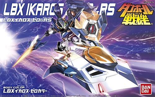 LBX イカロス・ゼロ & RS (ライディングソーサ)プラモデル(バンダイダンボール戦機No.0177913)商品画像
