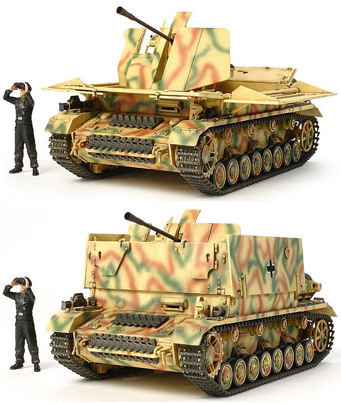 ドイツ 4号対空自走砲 メーベルワーゲン (3.7cm Flak43搭載型)プラモデル(タミヤ1/48 ミリタリーミニチュアシリーズNo.073)商品画像_2