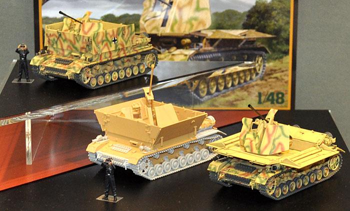 ドイツ 4号対空自走砲 メーベルワーゲン (3.7cm Flak43搭載型)プラモデル(タミヤ1/48 ミリタリーミニチュアシリーズNo.073)商品画像_3