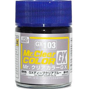 GX ディープクリアブルー塗料(GSIクレオスMr.クリアカラーGXNo.GX-103)商品画像
