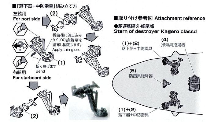 掃海具 (パラベーン) セットプラモデル(ファインモールド1/700 ナノ・ドレッド シリーズNo.WA016)商品画像_1