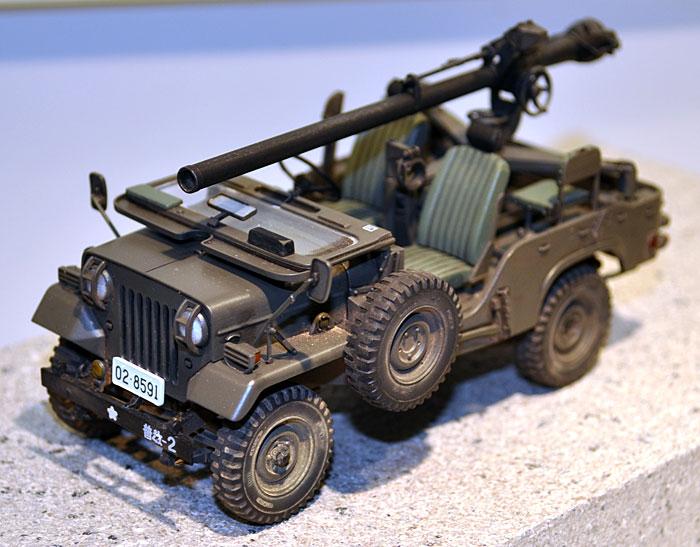 陸上自衛隊 73式小型トラック (無反動砲装備)プラモデル(ファインモールド1/35 ミリタリーNo.FM036)商品画像_3