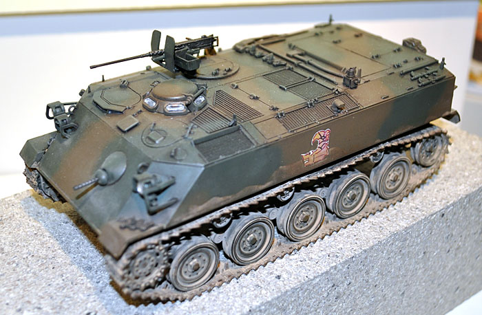 陸上自衛隊 60式装甲車プラモデル(ファインモールド1/35 ミリタリーNo.FM040)商品画像_3