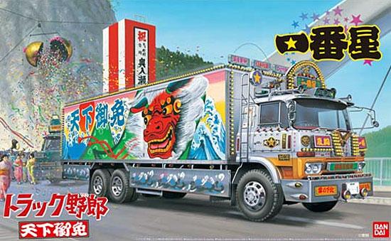 一番星 天下御免プラモデル(アオシマ1/32 トラック野郎シリーズNo.005)商品画像
