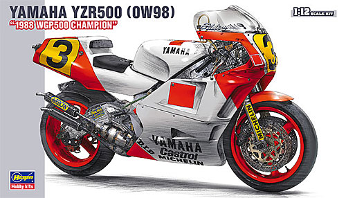 ヤマハ YZR500 (OW98) 1988 WGP500 チャンピオンプラモデル(ハセガワ1/12 バイクシリーズNo.BK-003)商品画像