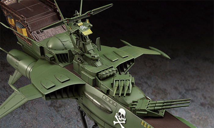 宇宙海賊戦艦 アルカディアプラモデル(ハセガワクリエイター ワークス シリーズNo.CW005)商品画像_4