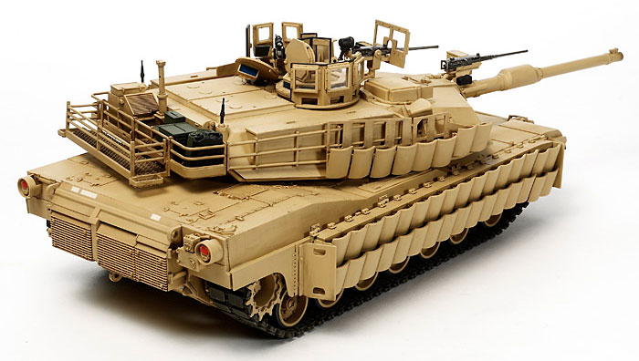 M1A2 SEP エイブラムス戦車 TUSK 2プラモデル(タミヤ1/35 ミリタリーミニチュアシリーズNo.326)商品画像_2