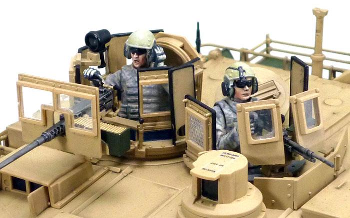 M1A2 SEP エイブラムス戦車 TUSK 2プラモデル(タミヤ1/35 ミリタリーミニチュアシリーズNo.326)商品画像_3