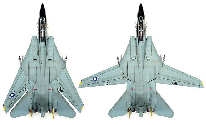 F-14A トムキャットプラモデル(タミヤ1/72 ウォーバードコレクションNo.082)商品画像_2