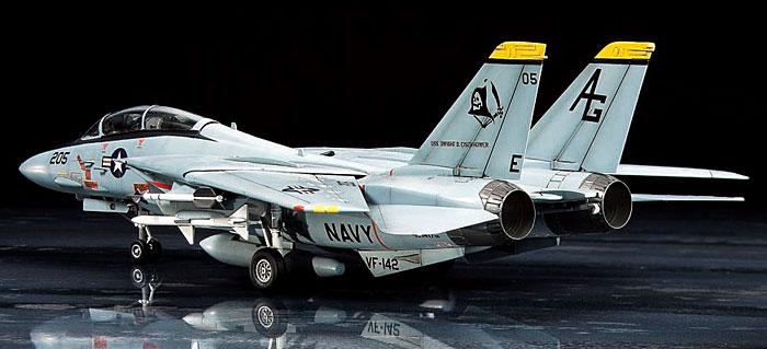F-14A トムキャットプラモデル(タミヤ1/72 ウォーバードコレクションNo.082)商品画像_3