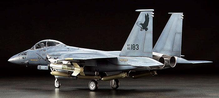 F-15E ストライクイーグルプラモデル(タミヤ1/72 ウォーバードコレクションNo.083)商品画像_2