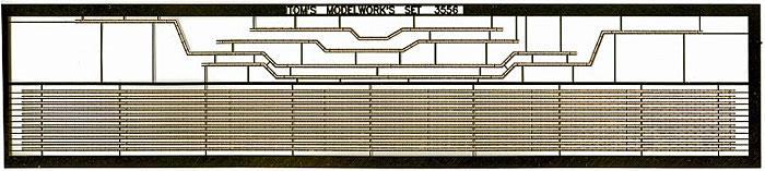 英海軍 巡洋戦艦 フッド用 弦外電路エッチング(トムスモデル1/350 艦船用エッチングパーツシリーズNo.TM3582)商品画像_1