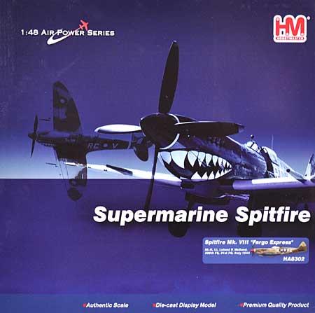 スピットファイア Mk.8 ファーゴ・エクスプレス完成品(ホビーマスター1/48 エアパワー シリーズ (レシプロ)No.HA8302)商品画像
