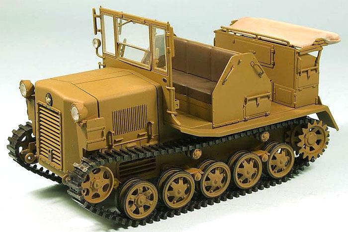 日本陸軍 98式 4t牽引車 シケ完成品(ピットロード塗装済完成品モデルNo.G022M)商品画像_1