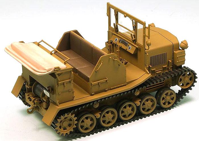 日本陸軍 98式 4t牽引車 シケ完成品(ピットロード塗装済完成品モデルNo.G022M)商品画像_2