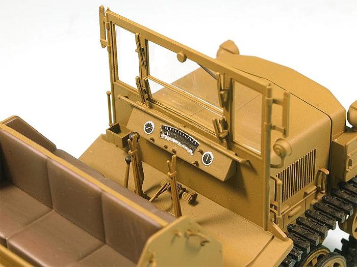 日本陸軍 98式 4t牽引車 シケ完成品(ピットロード塗装済完成品モデルNo.G022M)商品画像_3