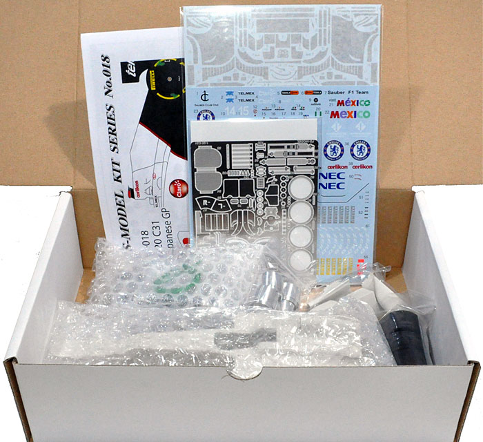 ザウバー C31 日本GP 2012レジン(FS-MODEL1/20 スタンダード レジンキットNo.FS018)商品画像_1
