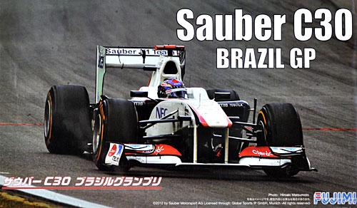 ザウバー C30 ブラジルGPプラモデル(フジミ1/20 GPシリーズNo.旧GP045)商品画像