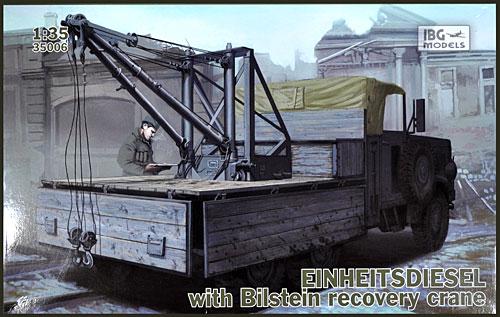 ドイツ アインハイツディーゼル 6輪クレーン搭載トラックプラモデル(IBG1/35 AFVモデルNo.35006)商品画像