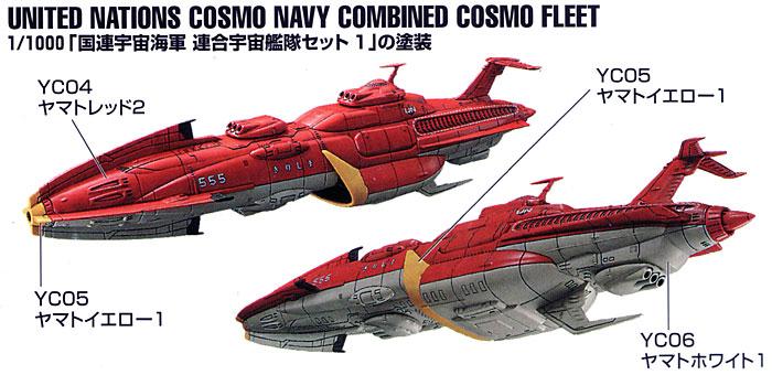 国連宇宙海軍 連合宇宙艦隊セット 1用塗料(GSIクレオスヤマトカラーNo.CS882)商品画像_2