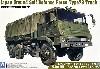 陸上自衛隊 73式 大型トラック 3トン半
