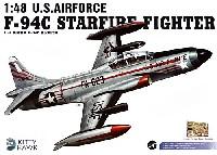 キティホーク1/48 ミリタリーエアクラフト プラモデルF-94C スターファイア