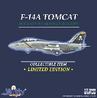 ウイッティ・ウイングス1/72 スカイ ガーディアン シリーズ (現用機)F-14A トムキャット アメリカ海軍 VF-84 ジョリー・ロジャース AJ200