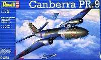 レベル1/72 飛行機キャンベラ PR.9