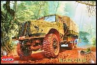 ローデン1/35 AFV MODEL KITソ連 クァーズ KrAZ214B 6輪 重大型トラック