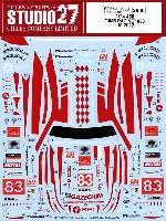 フェラーリ 458 JMBレーシング #83 ル・マン 2012