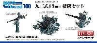 ファインモールド1/700 ナノ・ドレッド シリーズ九三式 13mm機銃セット
