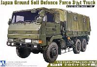 アオシマ1/72 ミリタリーモデルキットシリーズ陸上自衛隊 3 1/2tトラック 3トン半 新型