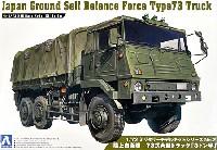 アオシマ1/72 ミリタリーモデルキットシリーズ陸上自衛隊 73式 大型トラック 3トン半