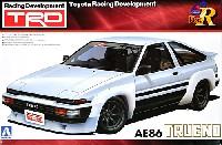 アオシマ1/24 Sパッケージ・バージョンRTRD AE86 トレノ N2仕様