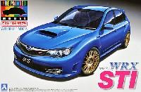 アオシマ1/24 プリペイントモデル シリーズGRB インプレッサ WRX STI 5door '07 (WRブルー・マイカ)