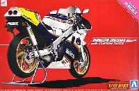 アオシマ1/12 バイクホンダ '88 NSR250R SP カスタムパーツ付