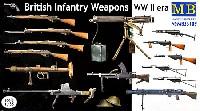 マスターボックス1/35 ミリタリーミニチュアイギリス軍 歩兵用 小火器セット (第2次大戦初期)
