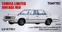 トヨタ クラウン 4ドア ハードトップ 2800 DOHC ロイヤルサルーン (白)