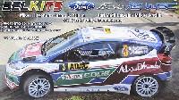 BELKITS1/24 PLASTIC KITSフォード フィエスタ RS WRC 2011 ADAC ラリー ドイツ