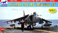 ブロンコモデル1/350 艦船モデルアメリカ海兵隊 AV-8B ハリアー 2 攻撃機