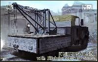 ドイツ アインハイツディーゼル 6輪クレーン搭載トラック