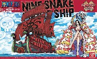 バンダイワンピース 偉大なる船(グランドシップ)コレクション九蛇海賊船 (くじゃかいぞくせん)