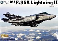キティホーク1/48 ミリタリーエアクラフト プラモデルF-35A ライトニング 2 戦闘機