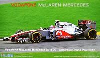 フジミ1/20 GPシリーズボーダフォン マクラーレン メルセデス MP4-27 オーストラリア グランプリ 2012
