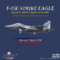 ウイッティ・ウイングス1/72 スカイ ガーディアン シリーズ (現用機)F-15E ストライクイーグル 48FW 492FS レイクンヒース基地 (AF91-0309)