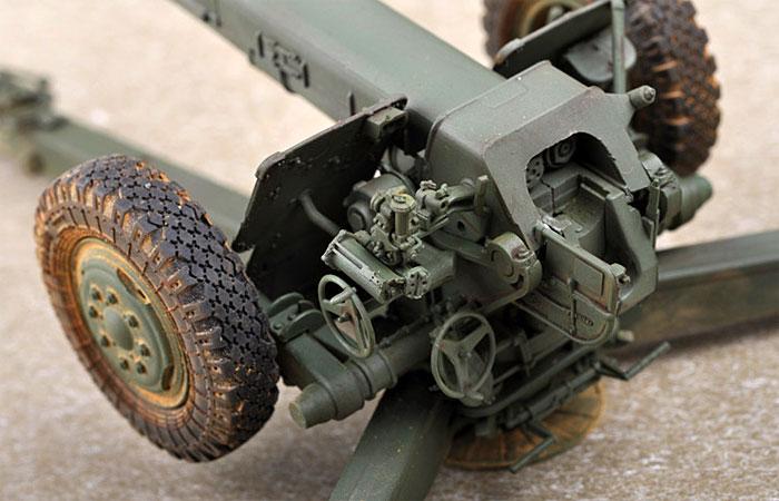 ソビエト D-30 122mm榴弾砲 後期型プラモデル(トランペッター1/35 AFVシリーズNo.02329)商品画像_3