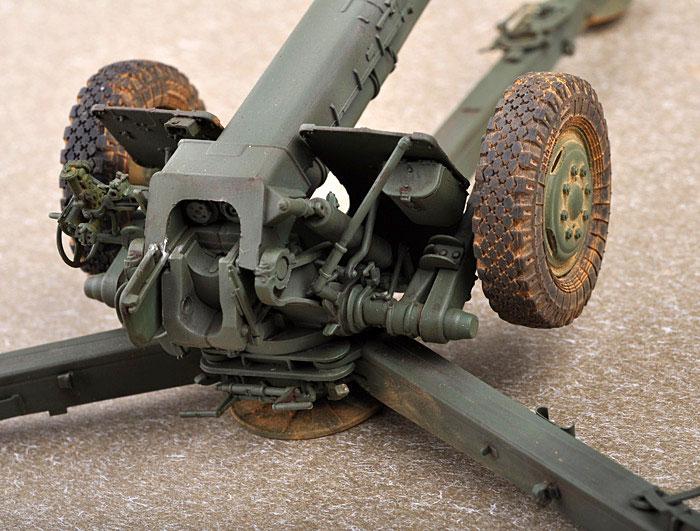 ソビエト D-30 122mm榴弾砲 後期型プラモデル(トランペッター1/35 AFVシリーズNo.02329)商品画像_4
