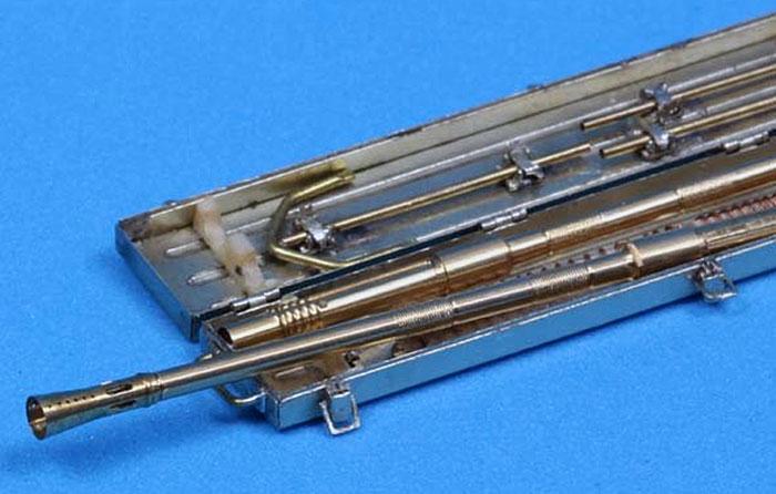 ドイツ 2cm Flak38 対空機関砲 砲身 & 予備銃身ケースメタル(アベール1/35 AFV用 砲身パーツNo.35L089)商品画像_4