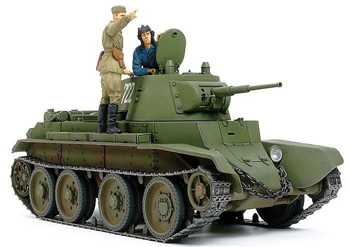 ソビエト戦車 BT-7 1937年型プラモデル(タミヤ1/35 ミリタリーミニチュアシリーズNo.327)商品画像_2