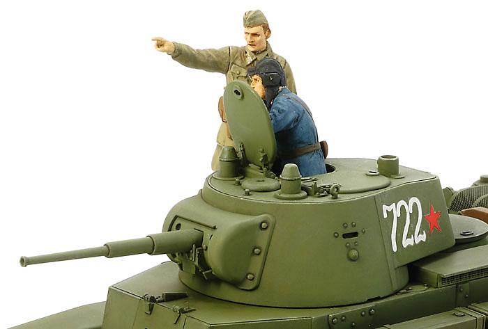 ソビエト戦車 BT-7 1937年型プラモデル(タミヤ1/35 ミリタリーミニチュアシリーズNo.327)商品画像_4